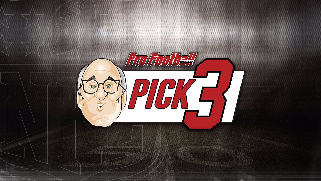 "Hub continues his winning record at 15-6 against the spread, with our Pro Football Weekly ""Pick 3!"" We had another winning record last week going 2-1! Each week Hub Arkush will choose 3 top match ups, and give you his pick for that game. This week features Steelers/Lions, Cowboys/Washington, and Texans/Seahawks."