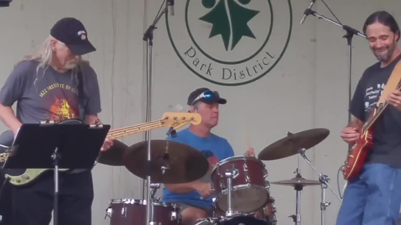 The band Innerspice performed Aug. 26 at the Glen Ellyn Festival of the Arts at Lake Ellyn Park.