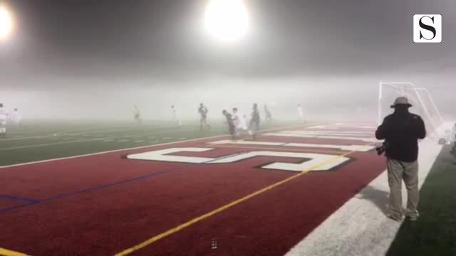 Chicago Bears had the fog bowl playoff game. Morton soccer has the same thing vs. Naperville C. in supersectional.