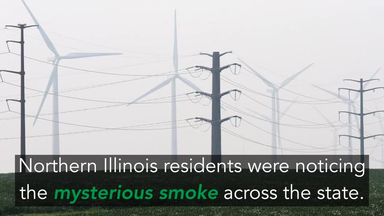 Smoke from forest fires in Canada created quite a stir Thursday when it settled across northern Illinois.