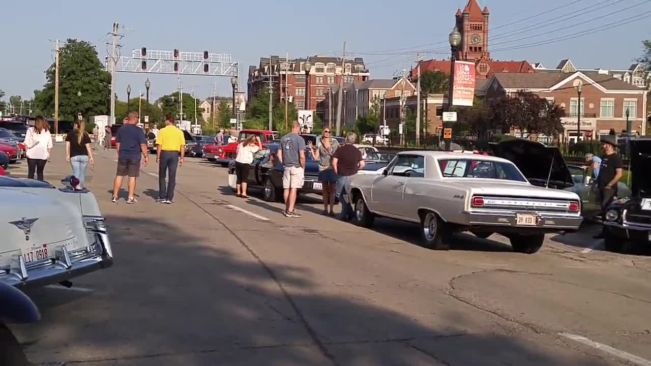 The Downtown Wheaton Association's Vintage Rides car show wrapped up its summer season on Aug. 25.