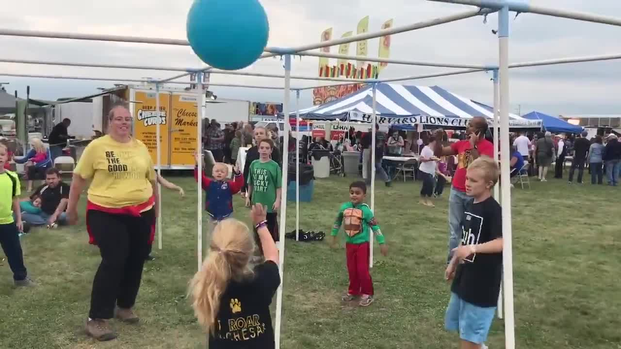While rain and wind canceled Saturday night's hot air balloon launch, residents were still able to enjoy some of the many other activities offered throughout the three-day weekend festival.
