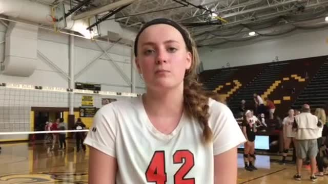 Megan Kelly on winning the Jacobs Volleyball Invite.