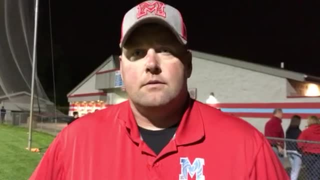 Marian Central coach Mike Maloney