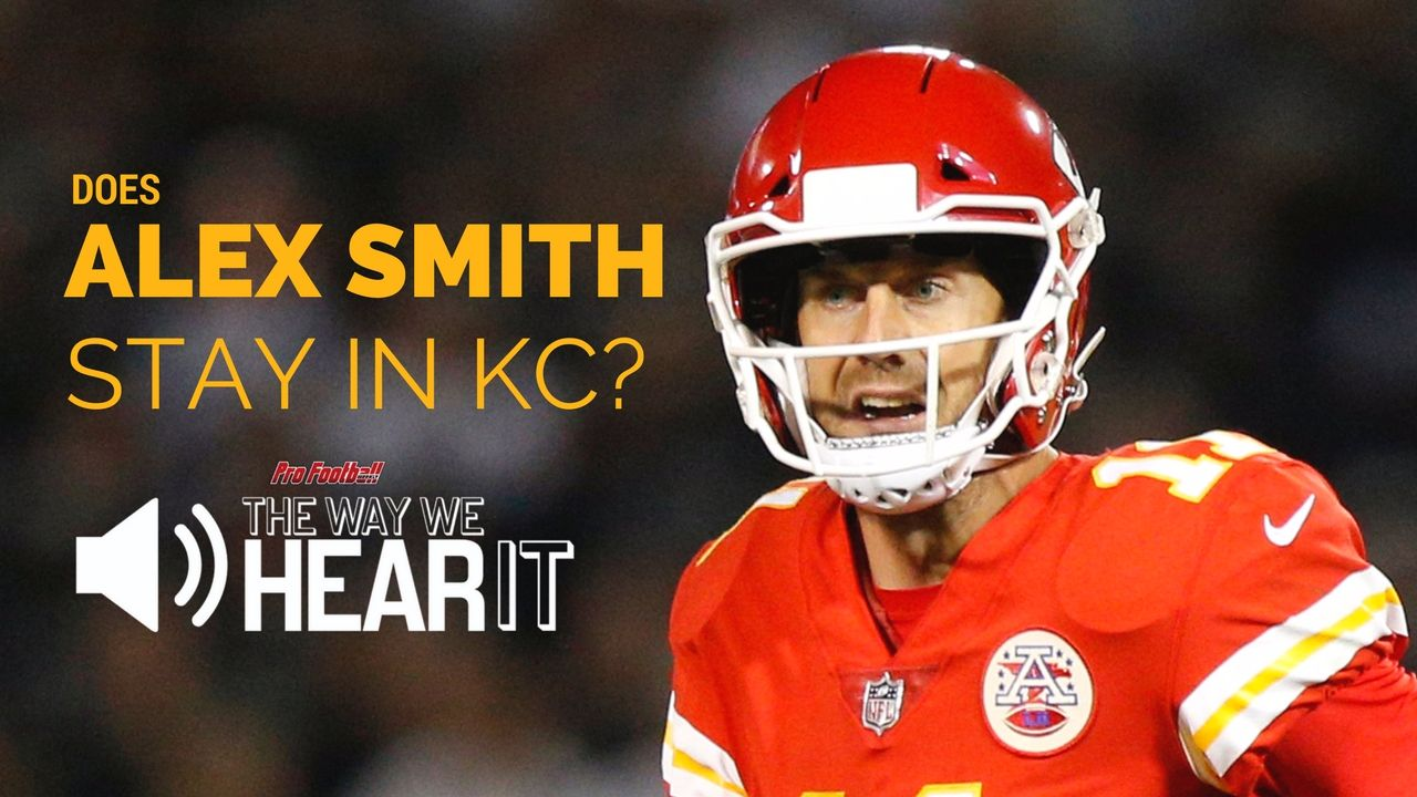 When the Kansas City Chiefs moved up in the 2017 NFL Draft to take Quarterback Patrick Mahomes, rumors spread that Alex Smith was not going to be around much longer. As PFW's Dan Pompei explains, the Chiefs had no intentions of dealing, nor do they plan on parting ways with Smith any time soon.