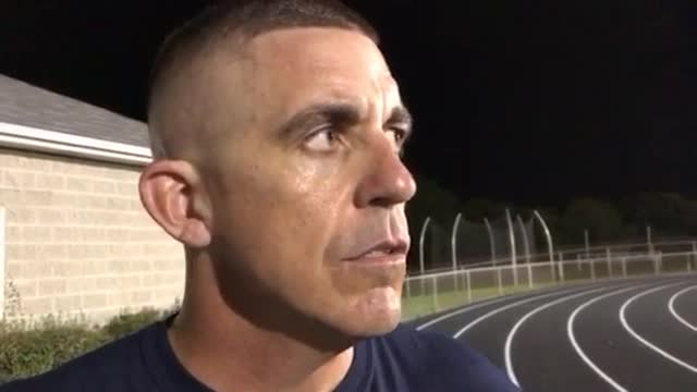 Seaburg talks about the Trojans' 52-26 victory over Jacobs.