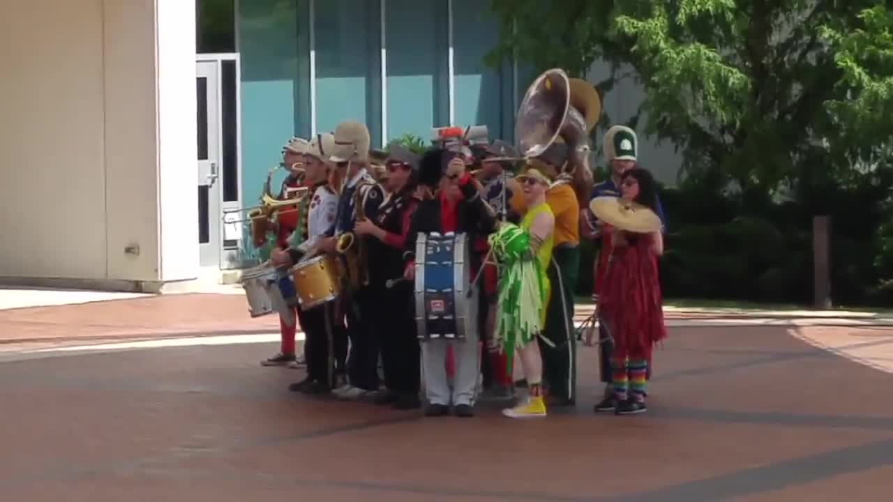 Chicago band Mucca Pazza performed Aug. 24 as part of the College of DuPage's Chaparral Days. The college's fall semester started Aug. 21.