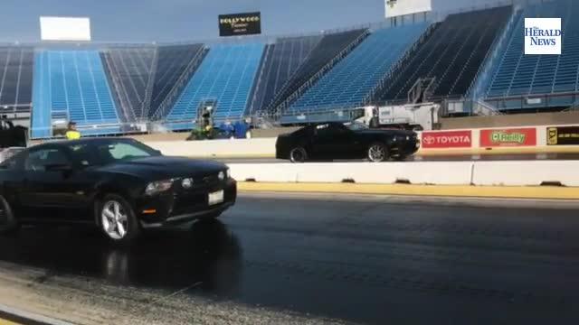 Test & Tune drag racing at Chicagoland Speedway in Joliet.