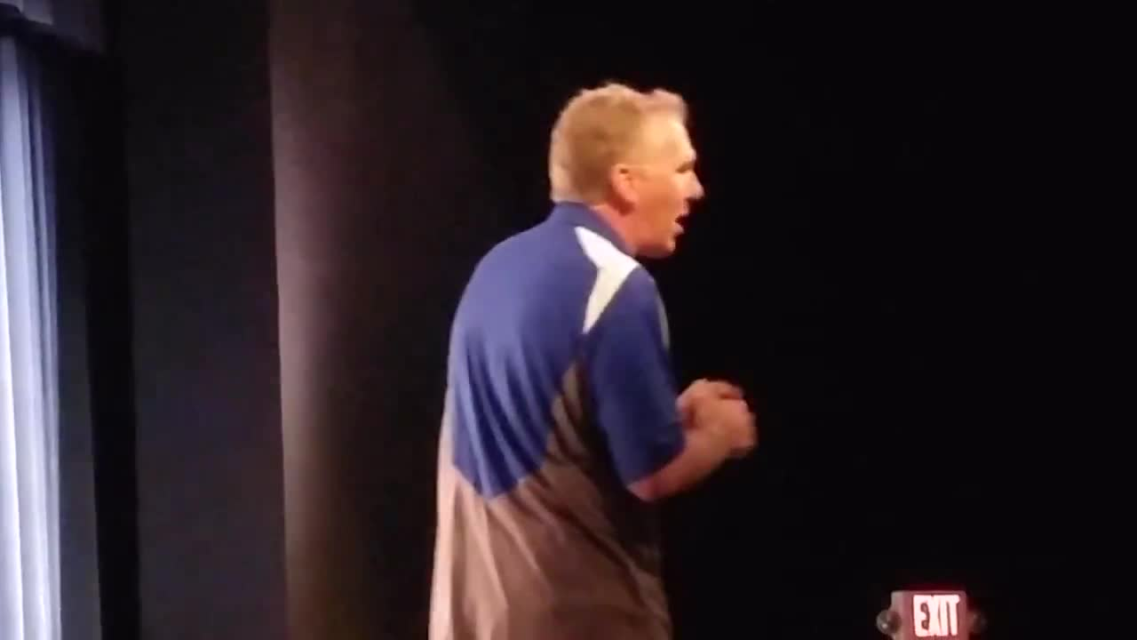 College Football Hall of Fame inductee Chuck Long, a 1981 graduate of Wheaton North High School, spoke to Wheaton North High School students on Dec. 15.