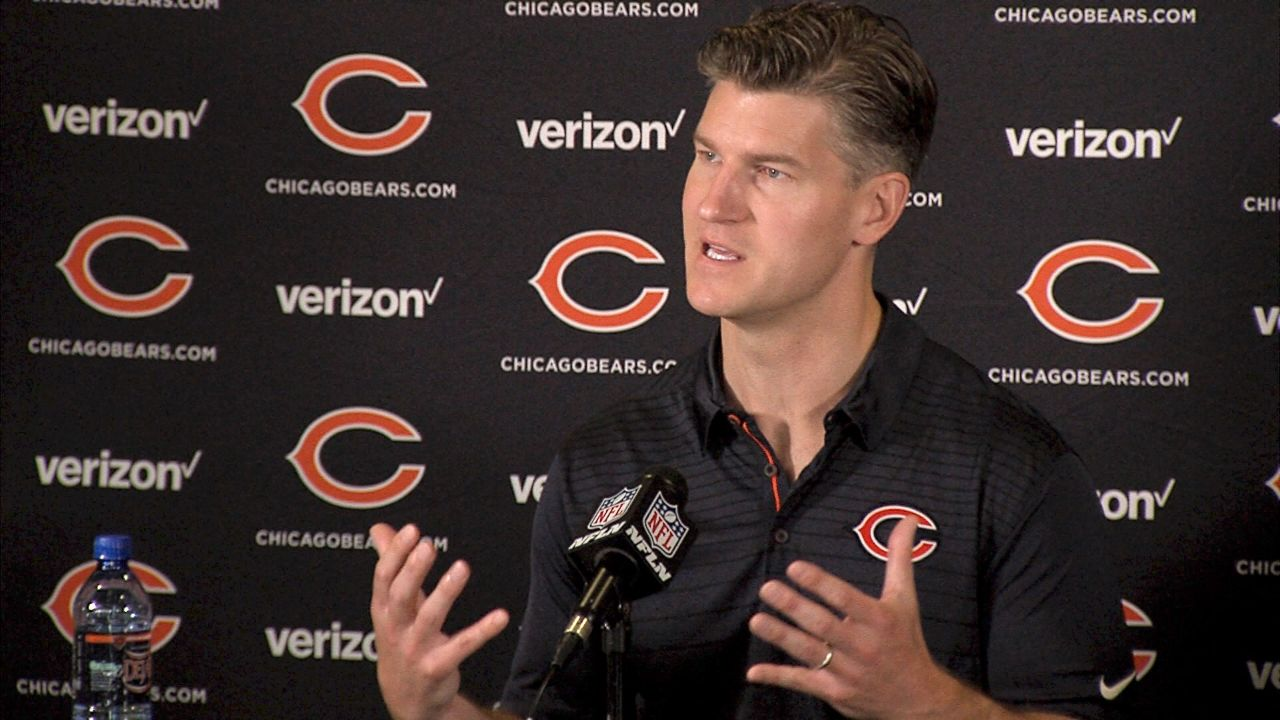 Over the past six months, it has become clear to anyone paying close attention that the Bears are now general manager Ryan Pace's team, while head coach John Fox just works there. In the past two-and-a-half years, we can count on one hand the number of times Pace has spoken publicly without Fox by his side, and until January it was always Fox who dominated those occasions, at times feeling the need to add to Pace's comments and even finish answers for him. As Hub Arkush reports, meeting with Pace and Fox on Wednesday at the opening of the Bears' training camp, it was clearly Ryan Pace's show, completing the turnaround in control he's been asserting this offseason. Visit our website: www.profootballweekly.com Visit PFW's YouTube channel: www.youtube.com/profootballweekly Like us on Facebook: www.facebook.com/ProFootballWeekly Follow us on Twitter: www.twitter.com/@PFWeekly Add us to your circles: www.google.com/+profootballweekly Copyright © 2017 Pro Football Weekly / Shaw Media. All Rights Reserved.
